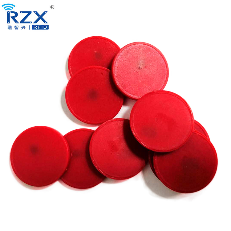 ABS material TK4100 RFID Coin tag