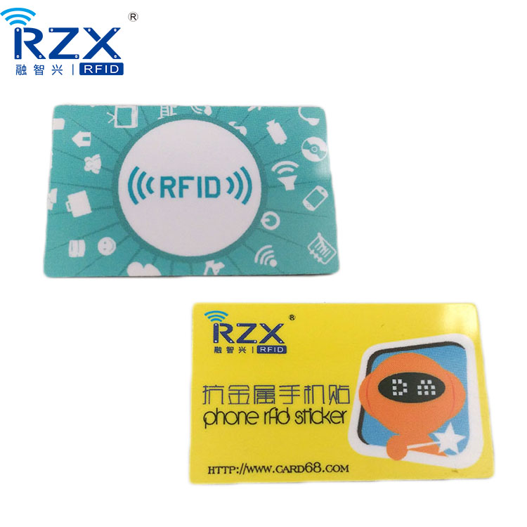 Logo Printable Programmable 13.56Mhz NTAG213 NFC Tag For Phone