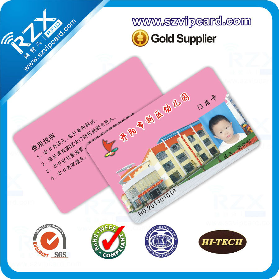 13.56mhz Student id card